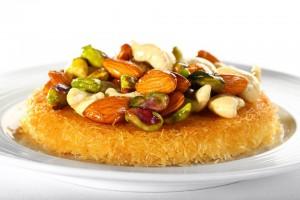 salamlek-Knafa With Nuts